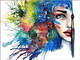 Posterlounge Acrylglasbild 130 x 100 cm: Art Always Works von Tanya Shatseva - Wandbild, Acryl Glasbild, Druck auf Acryl Glas Bild