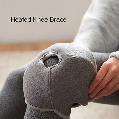 Beheizte Kniebandage mit 3 Temperatureinstellungen, warme Kniebandage für Gelenkschmerzen bei Kniesteife, Arthritis, Zerrungen, passt auf Knie, Wadenarm