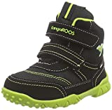 KangaROOS Inscore 2091, Baby Jungen Boots, Mehrfarbig (black/lime 580), 27 EU