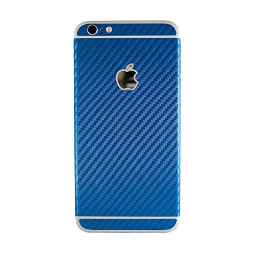 Strukturierte Haut Aufkleber für Apple iPhone 6/6S 11,9 cm, Blue Carbon Fiber, to fit Apple iPhone 6 / 6S 4.7