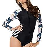 MOTOCO Sommer Damen Größen Bikini Set Frau Oberteil Swim Kleid Badeanzug Beachwear Badeanzüge Für Beach Party Swimdress Tauchanzug(XL(40),Schwarz)