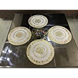 Style Your Home Round Dining Table Mats/Round Kitchen Place Mats,15 By 15 Inches Table Mats 38 X 38 Cm,Set Of - 4 Pcs