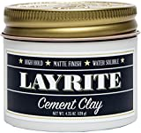 Layrite Cement Clay (High Hold, Matte Finish, Water Soluble) 120g/4.25oz