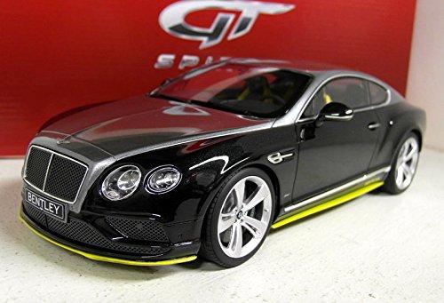 GT Spirit?gt734?Bentley Continental GT Speed Breitling Jet Team Series 1/18schwarz/gr Preisvergleich