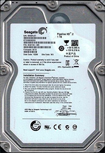 Preisvergleich Produktbild Seagate st31000322cs 1 TB P / N: 9 gw134-305 F / W: SC13 WU 5 VX