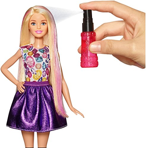 Image of Barbie DWK49 D.I.Y. Crimps & Curls Doll