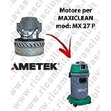 MX 27P Motor ametek de aspiración para aspiradora y te Maxiclean