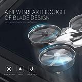 Etrogo Mini Drone JJRC H36 4 Channels 6-Axis Gyro 360°Flip Micro Drone Quadcopters Headless Mode One-Key Return 1 Pack Blue
