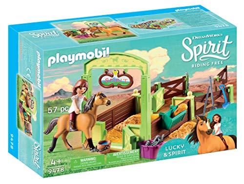 Playmobil 9478 Spielzeug-Pferdebox Lucky & Spirit