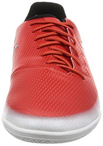 adidas Messi 16.3 in J, Scarpe da Calcio Unisex – Bambini Rosso (Red C Ore Blackfootwear White)