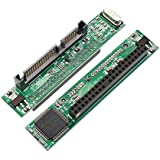 """SNANSHI 44 Pin 2.5"""" IDE HDD SSD Female to 22 Pin Male SATA Adapter Converter Card"""