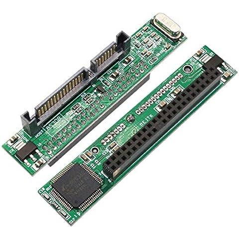 sxiesi 44Pin 2.5IDE HDD SSD SATA hembra a macho de 22pines adaptador convertidor tarjeta