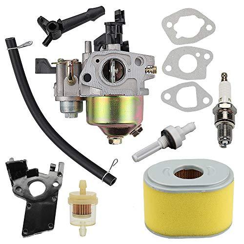 61 für Honda Carb GX120 GX160 GX140 GX 160 GX168 GX200 168F 5HP 5,5 PS 6,5 PS WP30X Wasserpumpe Hochdruckreiniger Motor w 17210-ZE1-505 Luftfilter Tune Up Kit ()