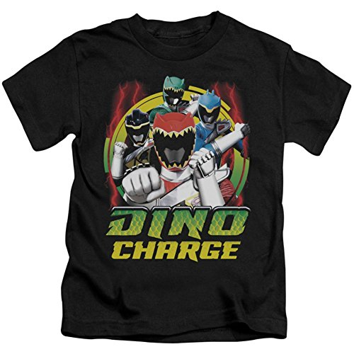 Power Rangers Jungen T-Shirt Dino Lightning schwarz - Schwarz - Large