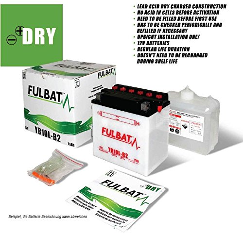 Batterie YB 4L-B z.B. Italjet Bazooka, 2 Bj: - (Volt/AMP) 12/4 -