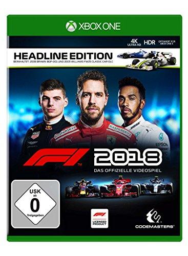 formel eins ps4 F1 2018 Headline Edition [Xbox One]