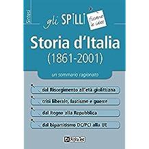 Storia d'Italia (1861-2001) (Gli spilli) (Italian Edition)