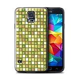 Stuff4 Hülle / Hülle für Samsung Galaxy S5 Neo/G903 / Gold Muster / Bad Fliesen Kollektion