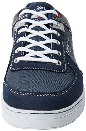 Xti 47153, Sneakers Basses Homme Bleu (Navy)