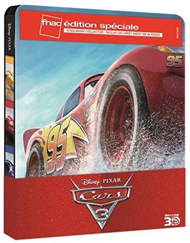 game of thrones steelbook staffel 3 CARS 3 - Exklusiv FNAC Steelbook 3D Edition with 84 seitigem Booklet (France) 3 Disc inkl. Bonus Disc - Blu-ray