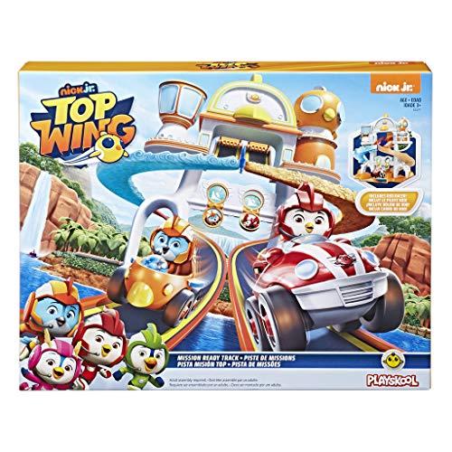Hasbro Top Wing - Pista delle Missioni con Rampa di Lancio per Bambini da 3 a 5 Anni