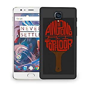 Snoogg Top Floor Designer Protective Back Case Cover For ONEPLUS THREE
