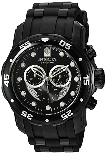 Invicta Pro Diver - 6984 Orologio da Polso, Cronografo, Uomo, Cinturino Plastica, Nero
