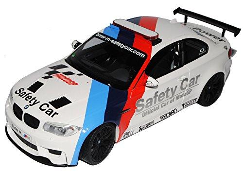 Preisvergleich Produktbild BMW 1er 1M M E82 Coupe Weiss Safety Car MotoGP 2007-2013 1/18 Minichamps Modell Auto
