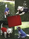 KING COLE K9 KNITTING PATTERN : Dog coats and Dog blanket (to fit 10-21in length dogs) (DK and Aran)