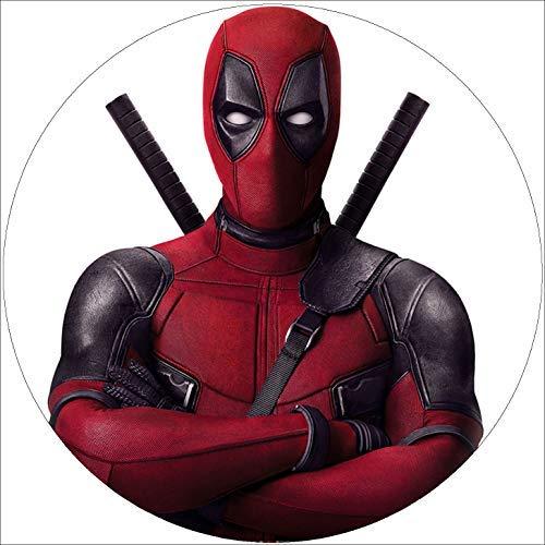 er Tortenbild Geburtstag Deadpool T5 ()