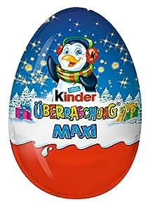 kinder maxi xxxl surprise eggs 6 x 100 grams total 600 grams limited edition. Black Bedroom Furniture Sets. Home Design Ideas