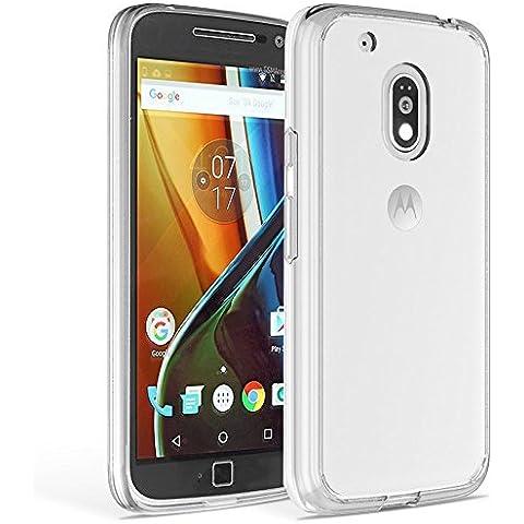 Funda Carcasa Gel Transparente para Lenovo Motorola Moto G 4 PLAY 2016 Dual Sim , Silicona TPU cristal suave ultrafina moto G4 PLAY 5