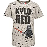 Lego Wear Jungen T-Shirt Lego Boy Star Wars TEO 650-T-Shirt, Grau (Light Grey 115) 128