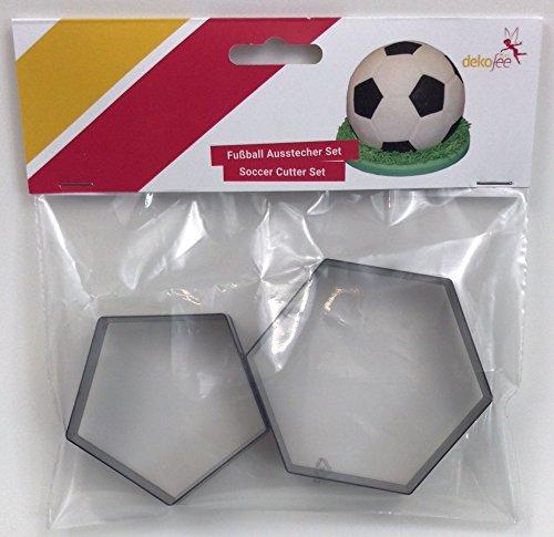 dekofee Ausstecher Fussball, 18cm