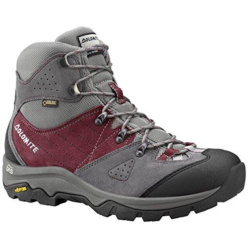 Dolomite ,  Scarponcini da camminata ed escursionismo uomo Gunmetal/Burgundy Red