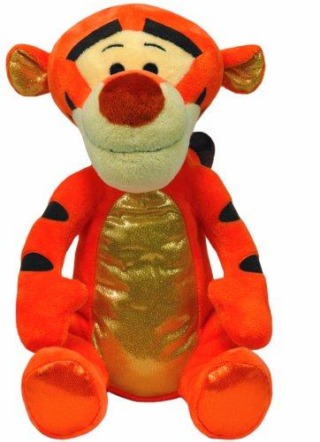 The Pooh Winnie Ohren (TY 90172 - Disney - Tigger Glitter mit Sound, glitzernder Bauch, Füße und Ohren, 30)