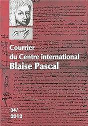 Courrier du Centre international Blaise Pascal, N° 34/2012 :