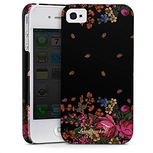 Apple iPhone X Silikon Hülle Case Schutzhülle Rosen Fashion Mode Premium Case glänzend