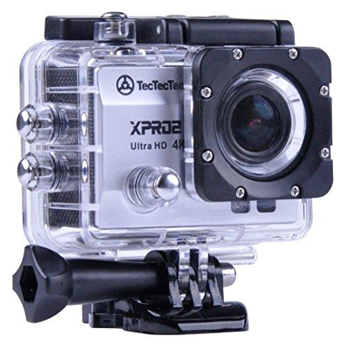 TecTecTec! [NEU] XPRO2Sport-Kamera 4K Ultra HD WiFi-Kamera wasserdicht 16MP-