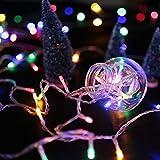 HG 60M 600 LED RGB Lichterketten 31V Christbaumschmuck Weihnachtsbeleuchtung Wasserdicht 8 Funktiontyp Memory Weihnachtsfest Party Festlich Tannenbaum Aussen Garten Fassaden Fenster Schaufenster