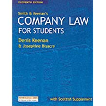 Smith & Keenan's Company Law for Students (Scottish Edition): With Scottish Supplement