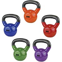 UFE Vinyl Powder Coated Cast Iron Kettlebell For Strength/Endurance rrp£22-£45