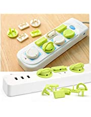 Max Home 6 Pcs/Set Electrical Socket Covers for Child Safety/Plug Protection Point for Baby Safety Proofing