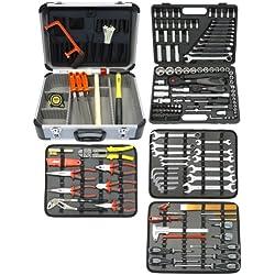 Famex 719-44 Mallette à outils de mécanicien 174/214 pièces