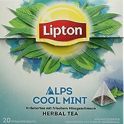 Lipton Kräutertee, Alpenminze Pyramidenbeutel, 20 Stück