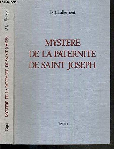 Mystère de la paternité de saint Joseph