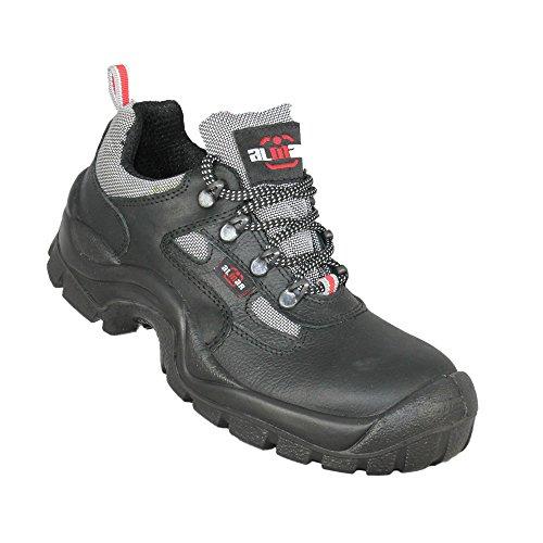 Almar Basket S2UK Chaussures de sécurité Chaussures de trekking haut Noir B de Marchandises Noir - Noir