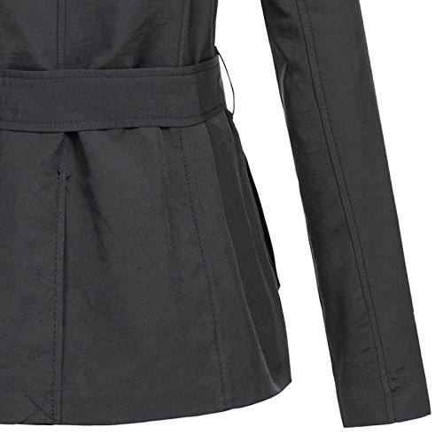 Only Onllucy Short Trenchcoat Cc Otw, Manteau Femme Schwarz ( BLACK )