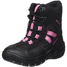 Geox J Clady B WPF B, Botas de Nieve Para Niñas