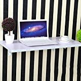 Zhuozi FUFU Wandhalterung Weißer Wand-Klapptisch im 13er-Format Drop-Blatt-Tabelle (Farbe : Weiß, größe : 30 * 30CM)